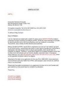 letter to consulate for visitor visa letter of