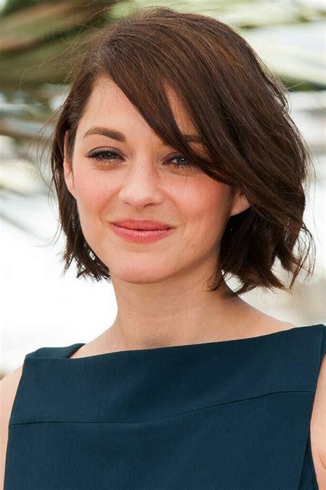 brunette short haircuts for thinning hair for women la meilleure coupe de cheveux femme en 45 id 233 es