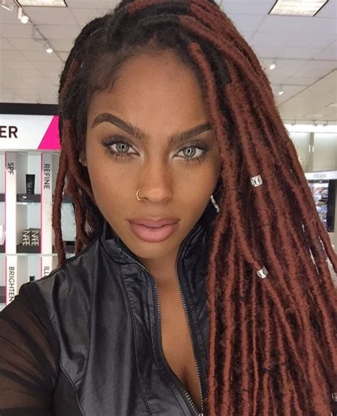 Faux Dreads In Black Wom | natural black girls the most beautiful black women you