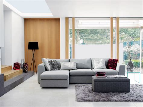Gray Living Room In Luxury And Elegance Realm Amaza Design Living Room With Grey Sofa