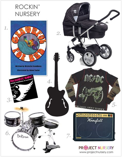 Kaos Rock Guitar 1 3 rockin nursery
