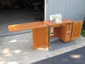 Diy Sewing Cabinet Plans Woodworking Plans Sewing Machine Cabinet Image Mag