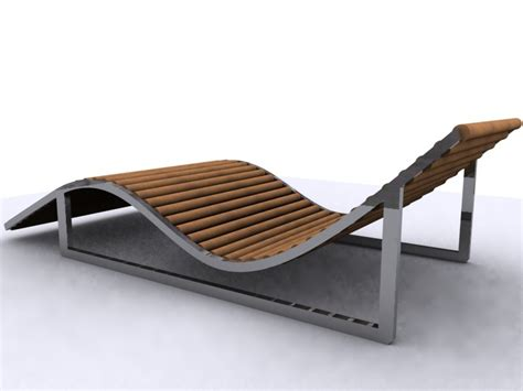 sun bed 3ds max lounger bed sunbed sun
