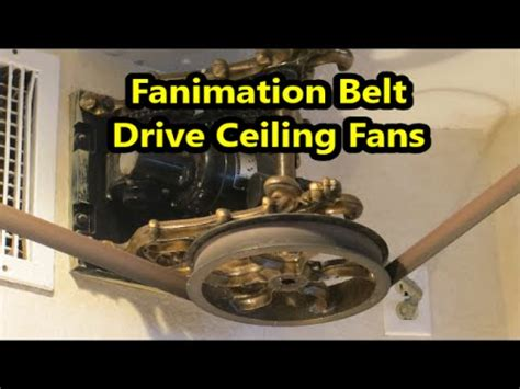 belt driven fan system belt ceiling fan system wanted imagery