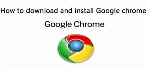 download and install google chrome google supporthttpssupport google comchromeanswer95346cogenie platform google chrome is a fast free web browser get google chrome download chrome for windo how to download and install google chrome