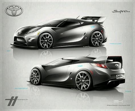 Toyota Supra Design Toyota Supra Concept Rendering Car Design