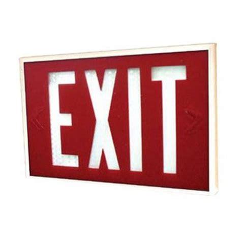 waterproof emergency exit light with tritium