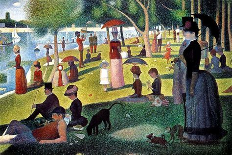 georges seurat most famous paintings quot the office quot cast re creates george seurat s sunday in the