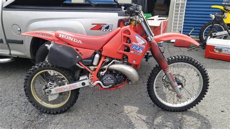 1988 honda cr250r canadian 1988 honda cr250 restorations school moto