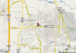 map of inn warner robins warner robins