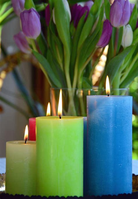 candela fiore foto gratis candela fiore fiamma cera caldo tulipano