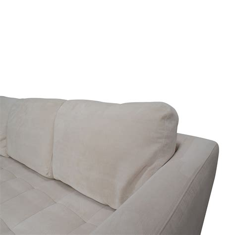 Microfiber Fabric For Sofa by 65 Macy S Macy S Milo Fabric Microfiber Sectional