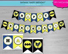 Bunting Flag Happy Birthday Banner Hbd Karakter Superman birthday ideas on 19 pins