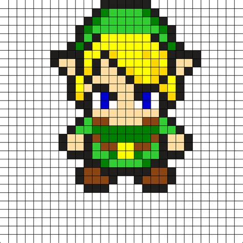 pattern link link perler bead by epikgd on kandi patterns flash