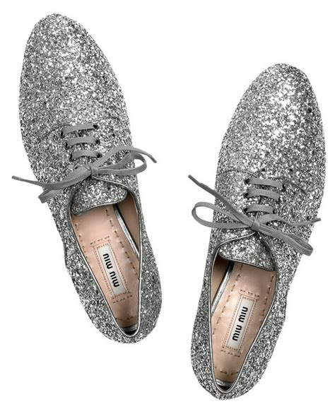 miu miu oxford shoes accessories miu miu glitter oxford