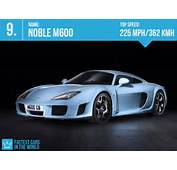 Fastest Cars In The World 2013 8 Noble M600  Top Speed 225 Mph