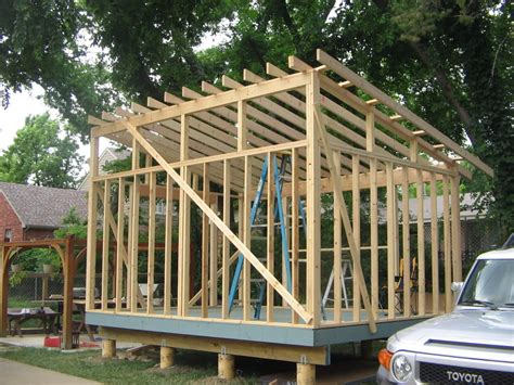 how to build a barn style roof shed style roof with clerestory windows for the garage