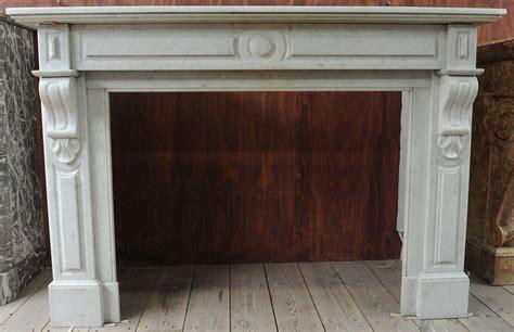 camini rettangolari late 19th c carrara marble fireplace at 1stdibs