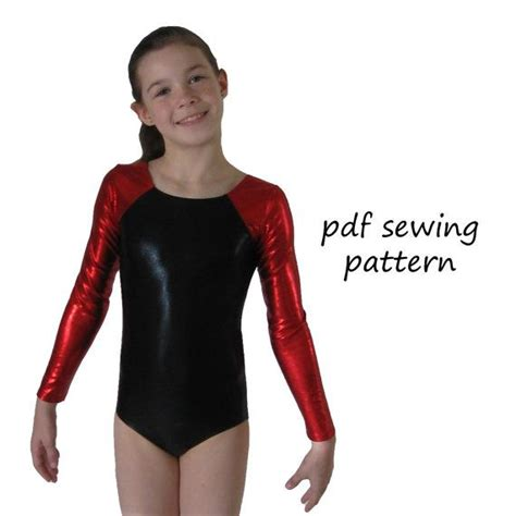 pattern free leotard leotards 6 pdf sewing pattern gymnastics leotards long