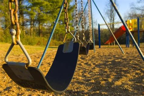 swing at the park woman found pushing her dead son s body at a playground
