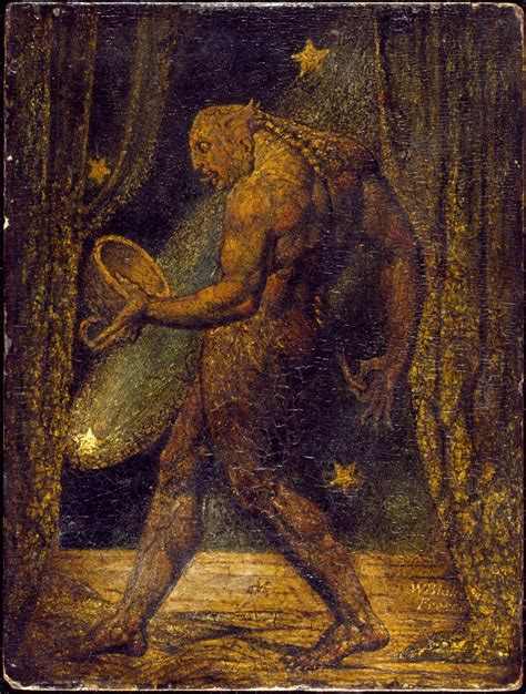 william blake the drawings the ghost of a flea william blake tate