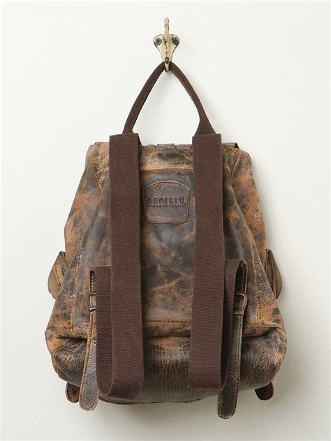 bed stu backpack bed stu jericho backpack in brown lyst