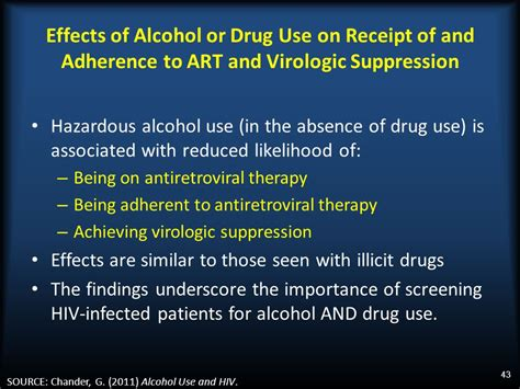 history and pattern of drug use alcohol and hiv what clinicians need to know ppt download