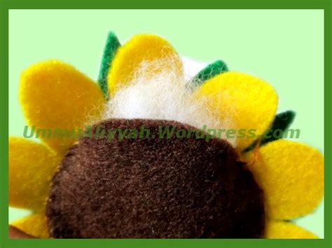 cara membuat bunga matahari flanel membuat bunga matahari dari kain flanel ummu aliyyah