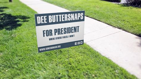 backyard signs paid for yard sign debate south dacola
