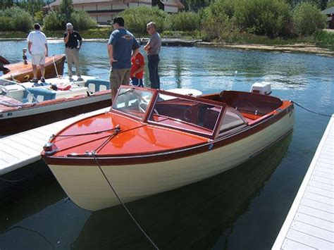 thompson wooden boats for sale 17 thompson sea lancer 1958 boats pinterest