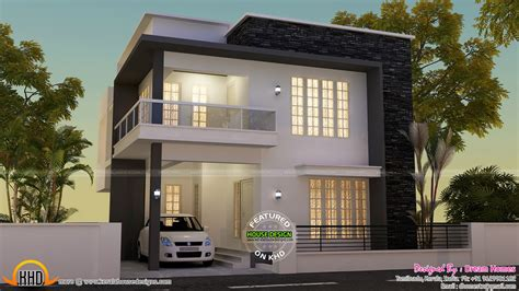 modern house view and plan kerala home design and floor plans