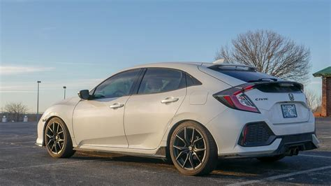honda civic springs eibach sportline lowering springs on my 2017 honda civic hatchback 10th honda civics