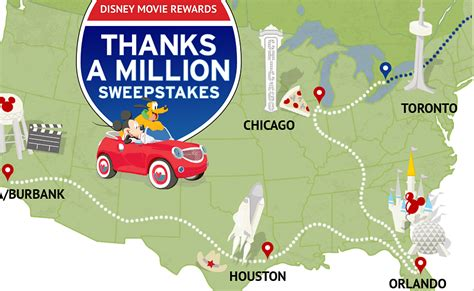 Millionaire Sweepstakes - enter to win the disney movie rewards quot thanks a million sweepstakes quot
