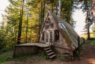 Cabins In The Redwoods Ca by Cozy A Frame Cabin In The Redwoods Houses For Rent In