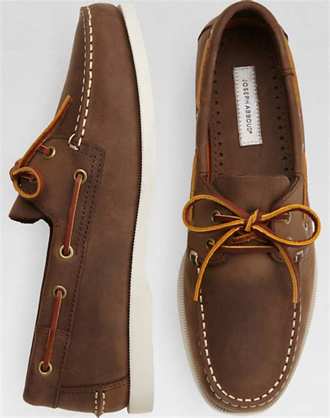 boat house shoes joseph abboud eastman brown boat shoes men s boat shoes men s wearhouse