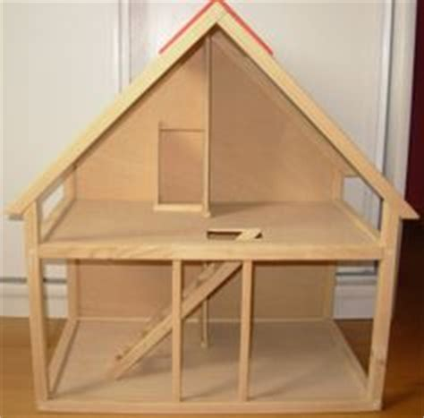 simple doll house made in usa wooden dollhouse kit and furniture christmas pinterest wooden dollhouse kits