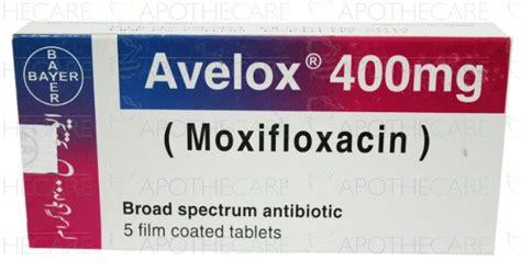 Avelox 400 Stock Limited avelox tab 400mg 1x5 s