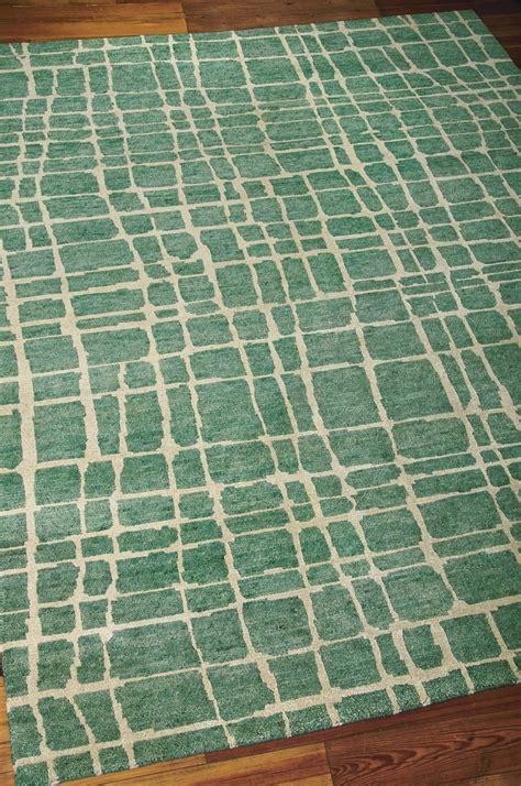 turquoise green rug nourison tahoe modern mta03 turquoise green rug