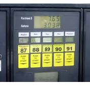 Gasoline Pumping From The Station Tank To Your Car
