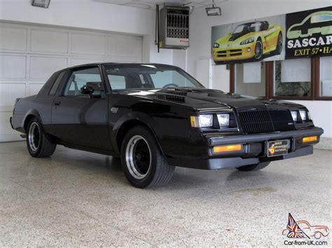turbo buick grand national 1987 buick regal grand national turbo