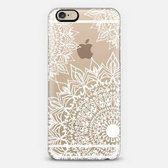 Casing Iphone 5 5s Pineapple Pattern Custom iphone 6s plus gold clear mandala