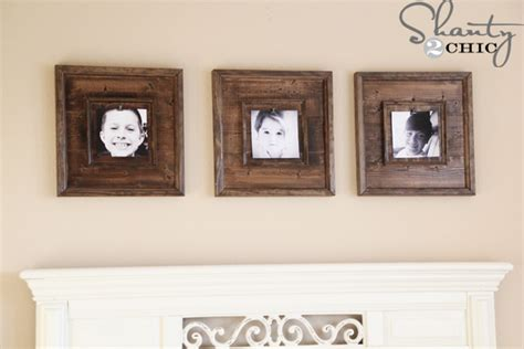 do it yourself picture frames diy wall 15 wooden frames shanty 2 chic