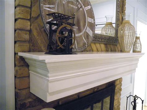 How To Build A Wood Mantel Shelf by Diy Fireplace Mantel Shelf Plans Easy Diy Idea Projects