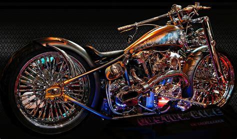 Custom Bike horror chopper bike by rubenvoorhees1 on deviantart