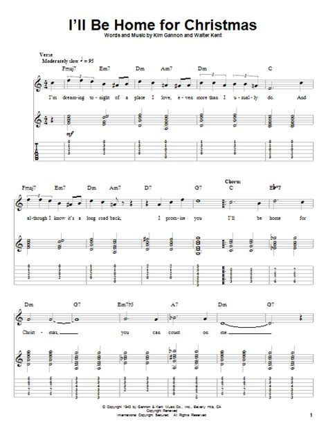 i ll be home for by crosby guitar tab