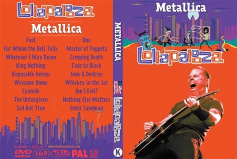 metallica dvd metallica live lollapalooza chicago 2015 dvd rare rock