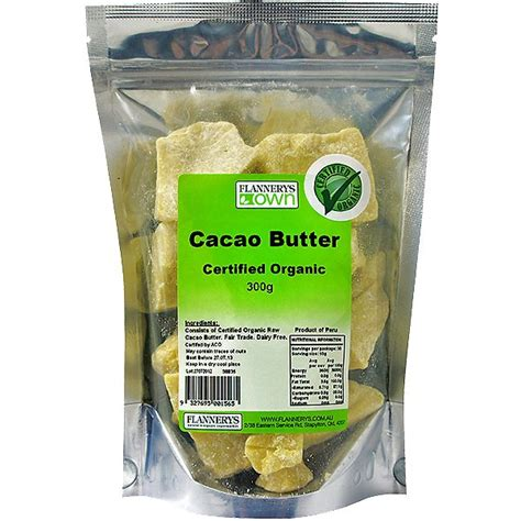Cacao Butter 225 Gram oils butters archives flannerys
