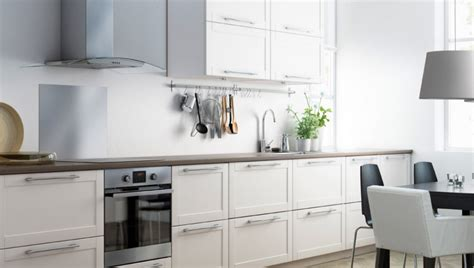 cuisine sur un pan de mur cuisine ikea contemporaine photo 2 12 install 233 e sur un