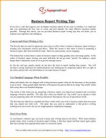 Business Essay Format by Doc 8531070 Writing Business Reports Bizdoska