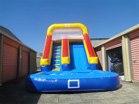 how to make a water slide in your backyard inflatable water slide